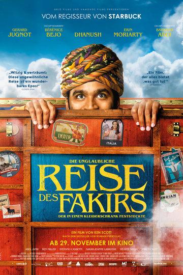 Die unglaubliche Reise des Fakirs, der in einem Kleiderschrank feststeckte (2018)